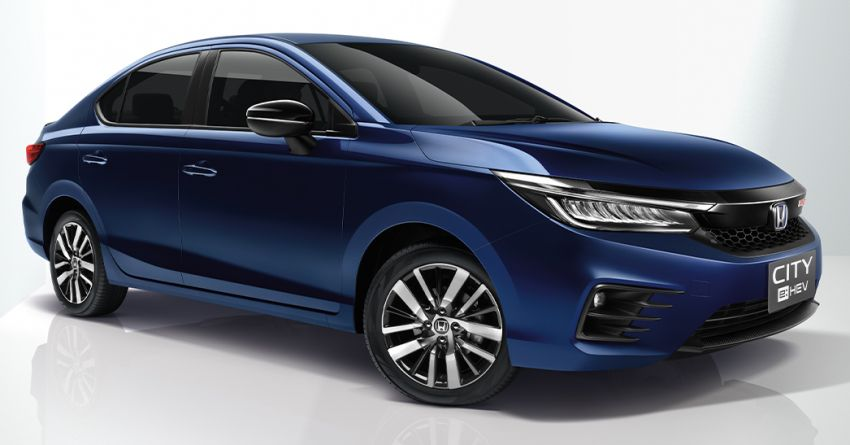 Honda City e:HEV RS Launched in Thailand 5