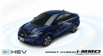Honda City e:HEV RS Launched in Thailand 11