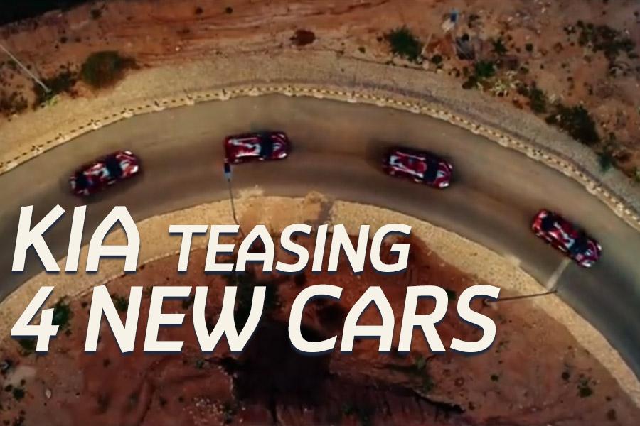 Kia Motors Pakistan Teasing 4 New Cars 2