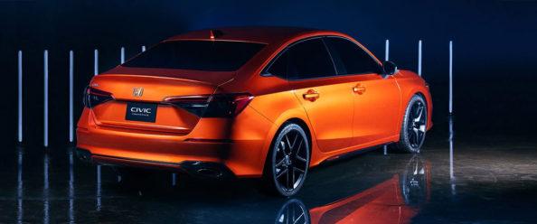 11th Generation Honda Civic Prototype Unveiled 4