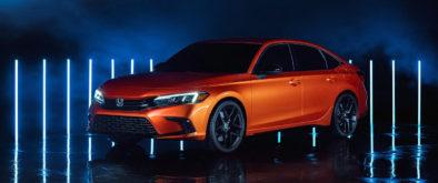 11th Generation Honda Civic Prototype Unveiled 2