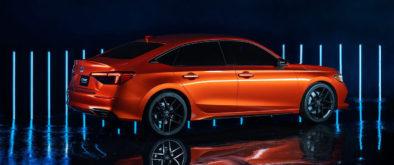 11th Generation Honda Civic Prototype Unveiled 3