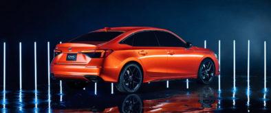 11th Generation Honda Civic Prototype Unveiled 7