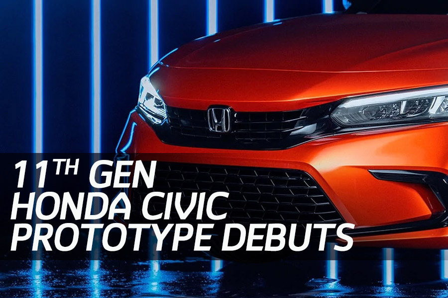 11th Generation Honda Civic Prototype Unveiled 1
