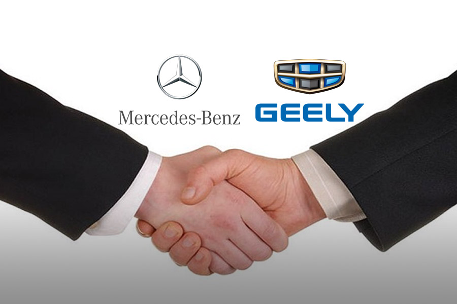 Mercedes-Benz and Geely Confirm Hybrid Engine R&D Partnership 1