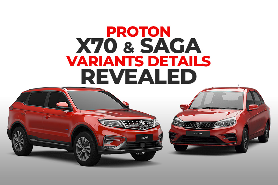 Proton X70 and Saga- Variants Details Revealed 6