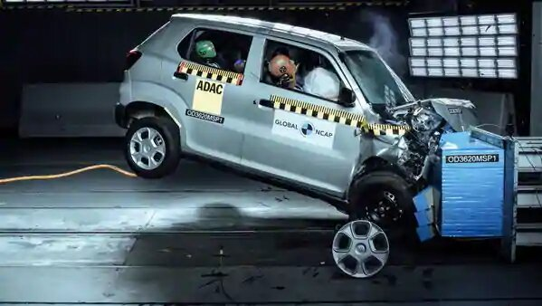 Maruti Suzuki S-Presso Get Zero Stars in Global NCAP Crash Tests 2