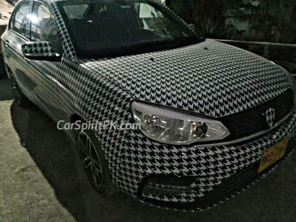 Proton Saga Spotted Again- This Time Undisguised 6