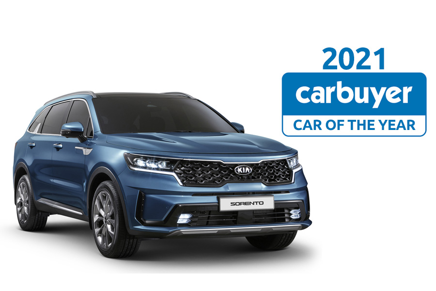4th Gen Kia Sorento Wins Carbuyer's 2021 'Car of the Year' Award 4