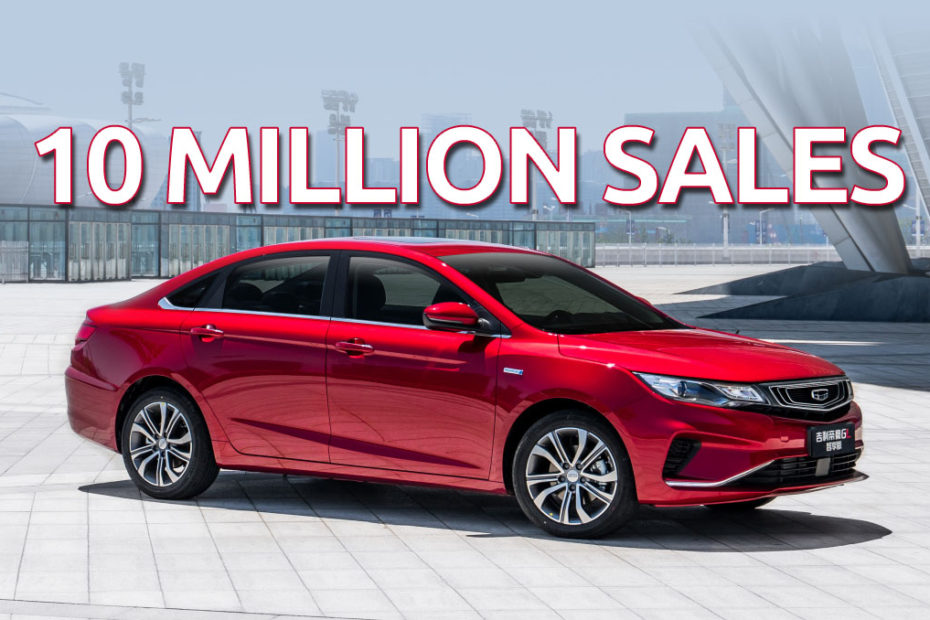 Geely Surpasses 10 Million Sales Mark in Just 23 Years 5