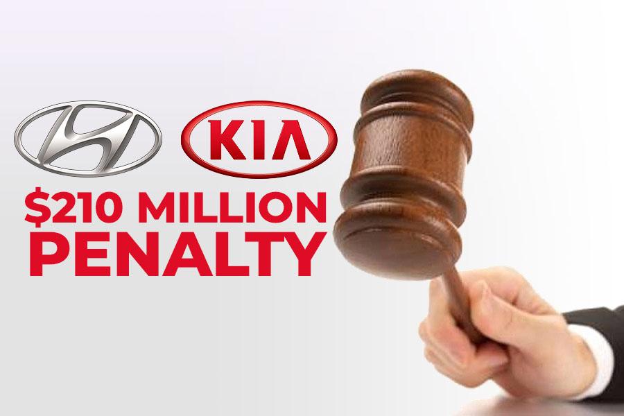 Hyundai & Kia to Pay a Record $210 Million Penalty in Delaying Recalls 9