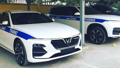 VinFast Delivers Lux SA2.0 SUVs to Ministry of Public Security 7