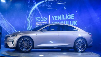 TOGG Shows First Body Assembly of Turkey's Homegrown Car 11