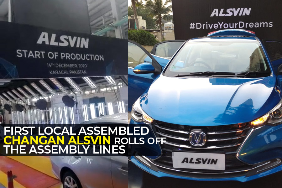 Pakistan Assembled Changan Alsvin Rolls Off the Assembly Lines 9