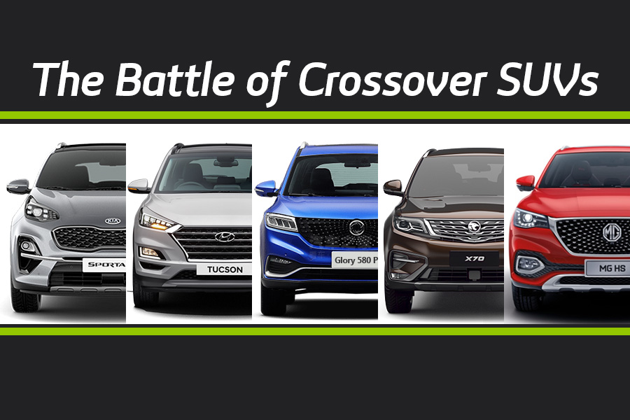 The Battle of Crossover SUVs 1
