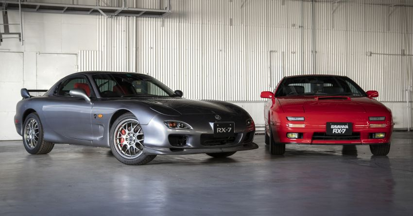 Mazda Launches Heritage Parts Program for RX-7 2
