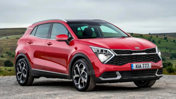 Fresh Renderings of Next Generation Kia Sportage 2