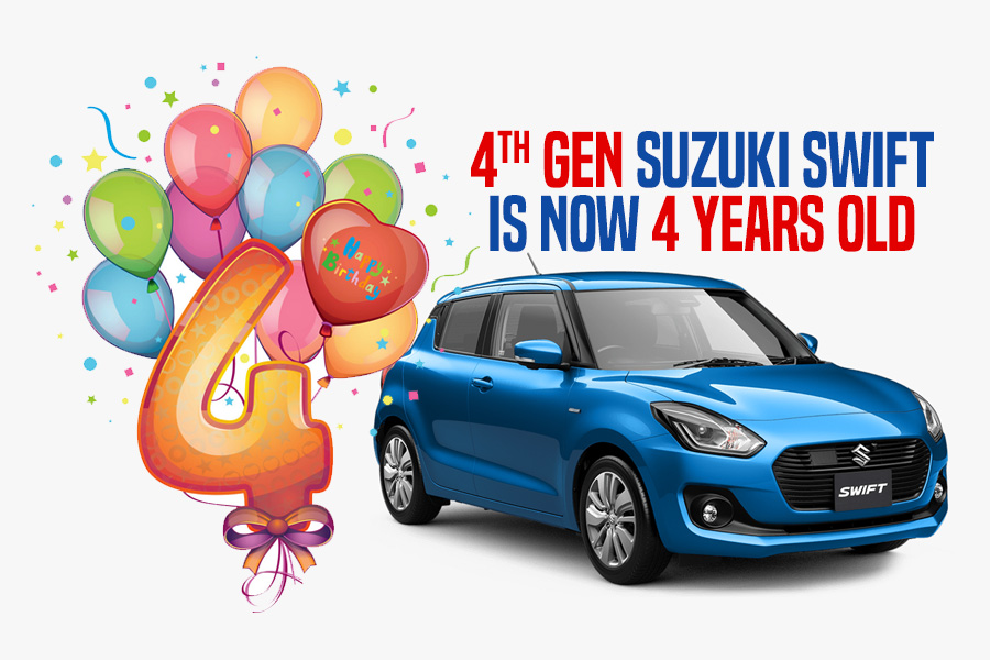 4th gen Suzuki Swift Becomes 4 Years Old 8