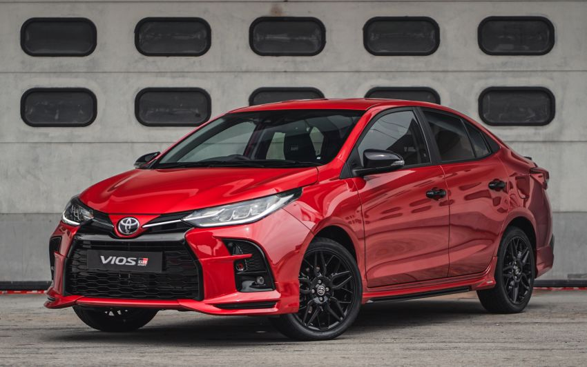 Toyota Launches the Sporty Vios GR-S in Malaysia 1