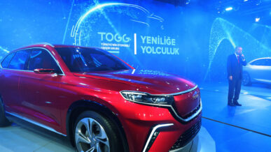 TOGG Shows First Body Assembly of Turkey's Homegrown Car 9