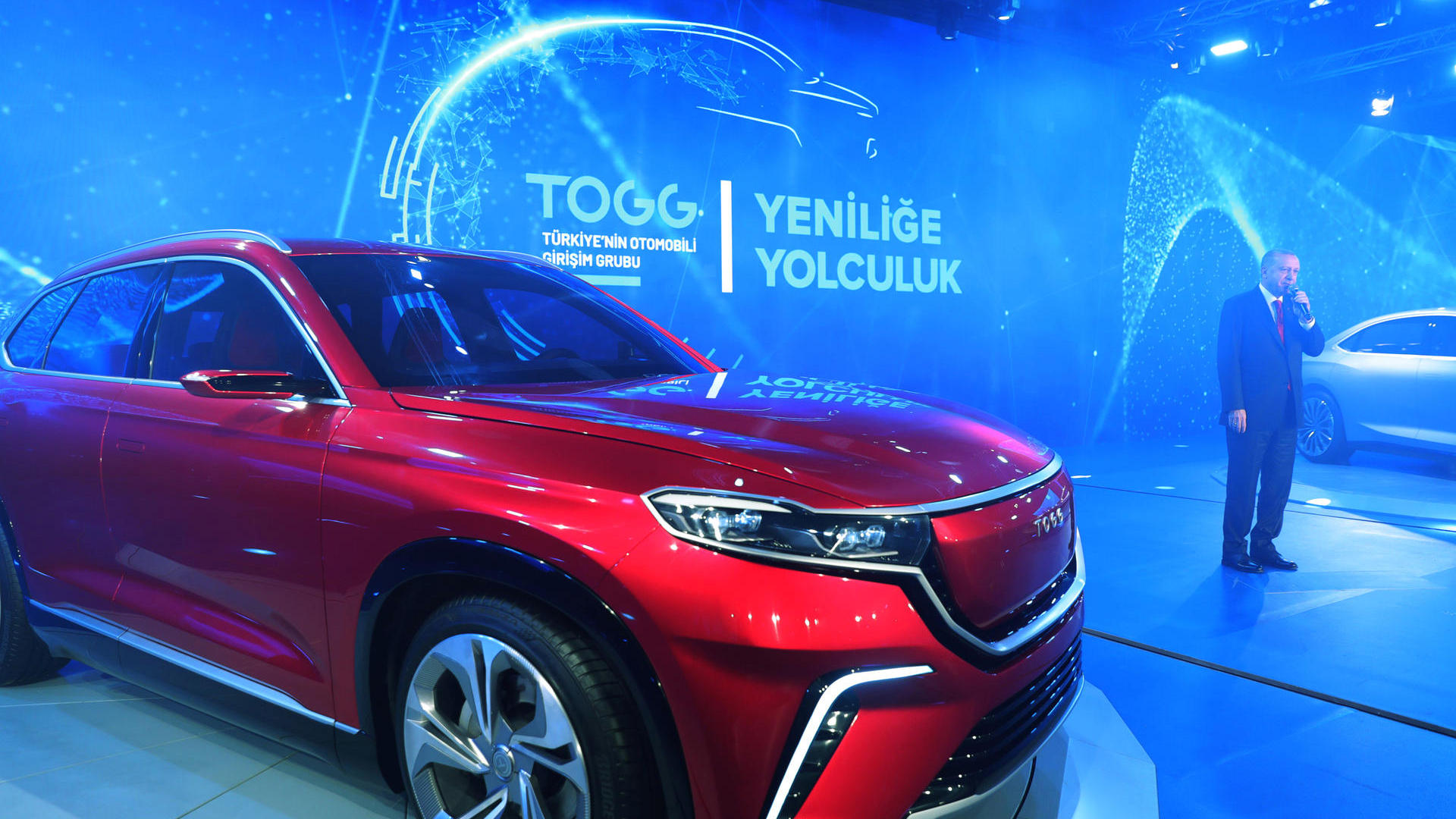 TOGG Shows First Body Assembly of Turkey's Homegrown Car 1