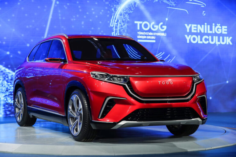 TOGG Shows First Body Assembly of Turkey's Homegrown Car 10