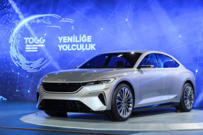 TOGG Shows First Body Assembly of Turkey's Homegrown Car 12