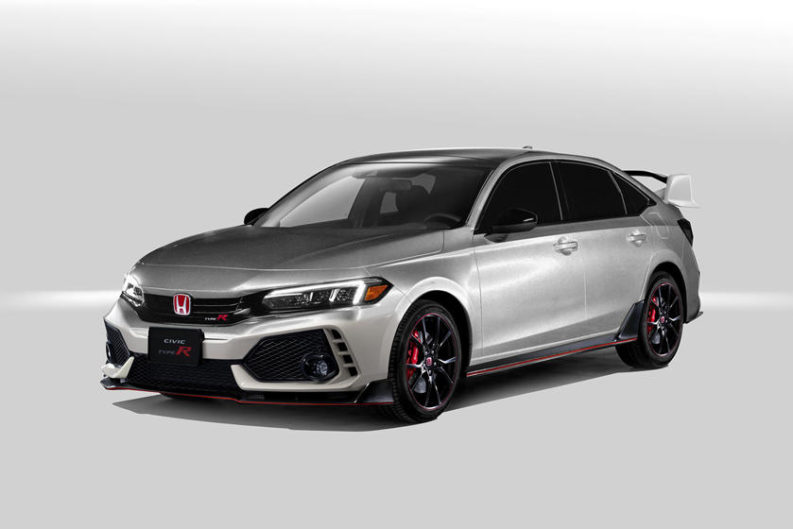 11th gen Honda Civic Type-R Rendered 1
