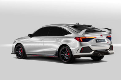 11th gen Honda Civic Type-R Rendered 2