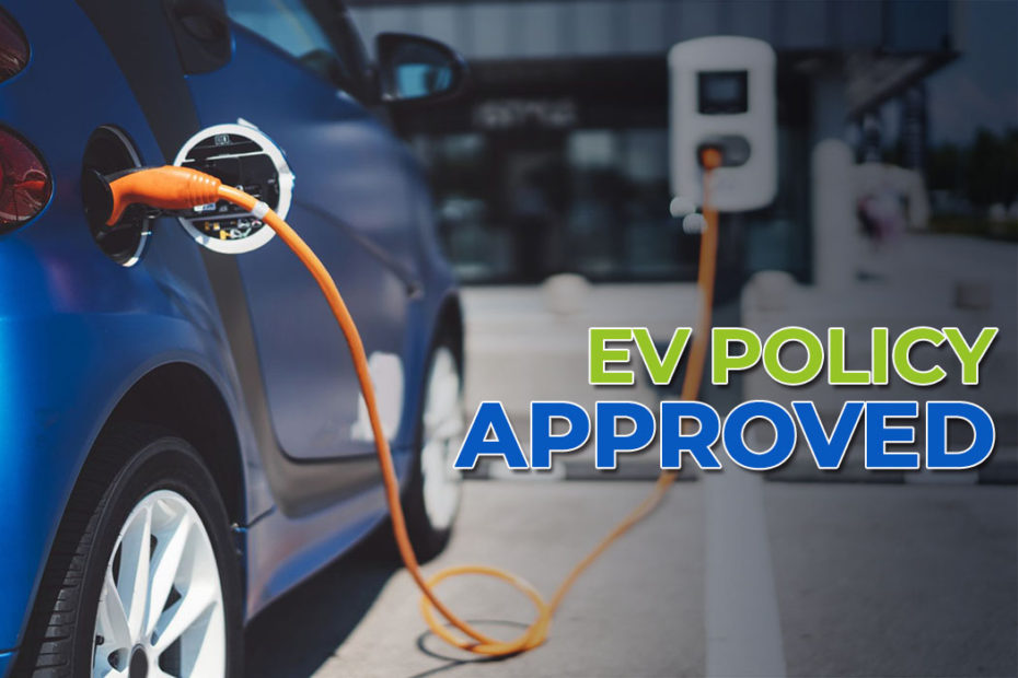 Electric Vehicle Policy for 4 Wheelers Approved 3
