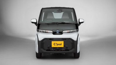 Toyota Launches C+pod Electric Car 1