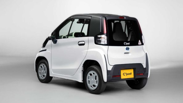 Toyota Launches C+pod Electric Car 4