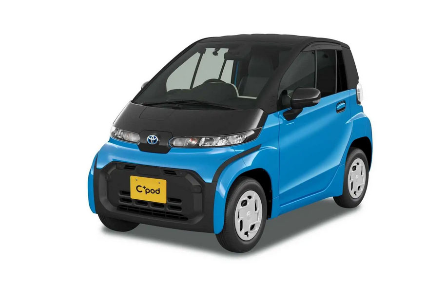 Toyota Launches C+pod Electric Car 9