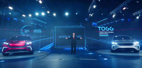 TOGG Shows First Body Assembly of Turkey's Homegrown Car 13