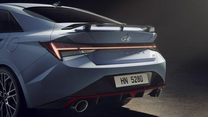 Hyundai Elantra N High Performance Sedan Debuts Globally 4
