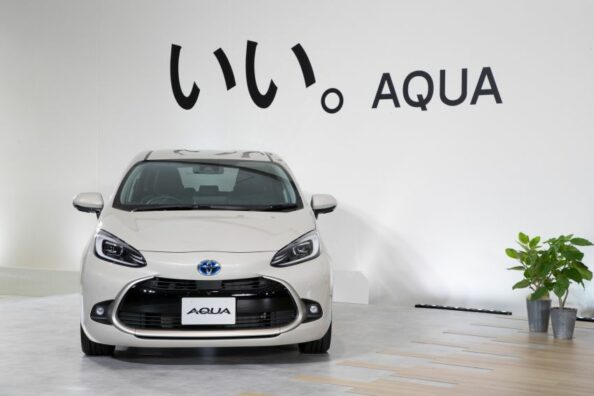 Toyota Launches the All New Aqua (Prius C) 10