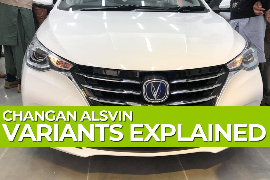 Changan Alsvin- Variants Explained 2