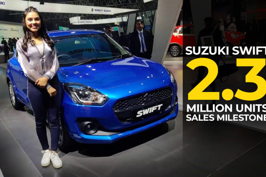 Swift Achieves 2.3 Million Units Sales Milestone in India 6