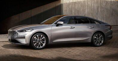 KIA Unveils the Interior of K8 Sedan 2