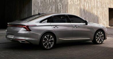 KIA Unveils the Interior of K8 Sedan 3