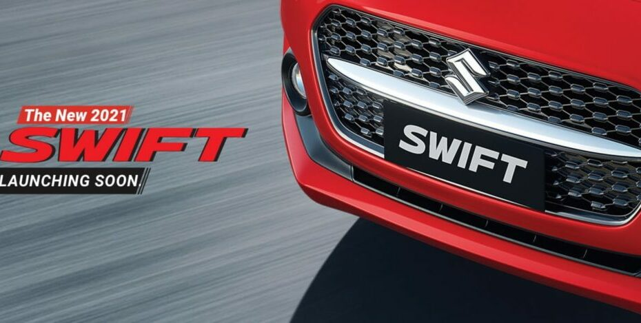 Maruti Teasing 2021 Swift Facelift in India 3