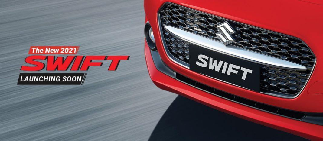 Maruti Teasing 2021 Swift Facelift in India 1