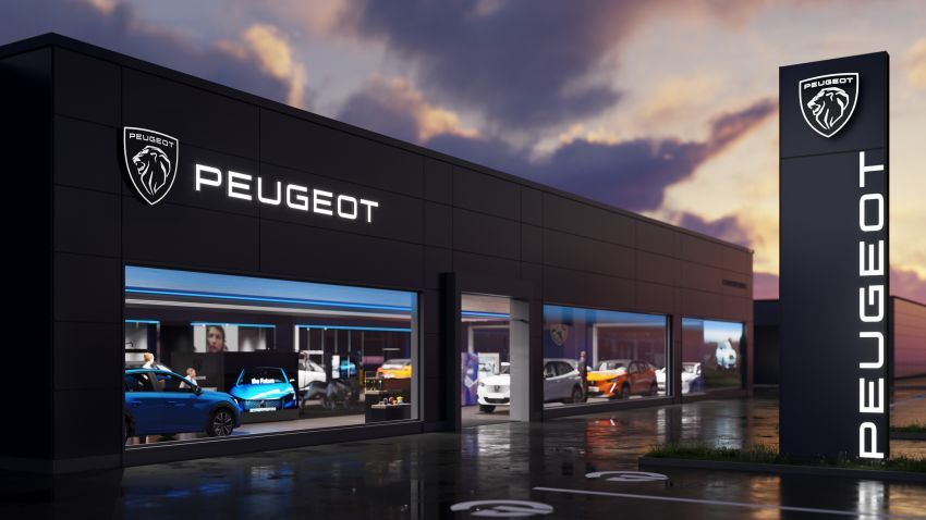 Peugeot Reveals Its New Logo 2