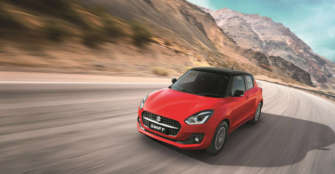 2021 Suzuki Swift Facelift Launched in India 3