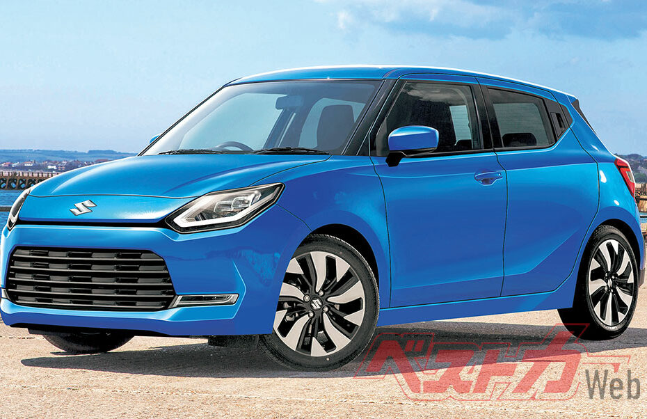 Next Gen Suzuki Swift to Debut in July 2022 5