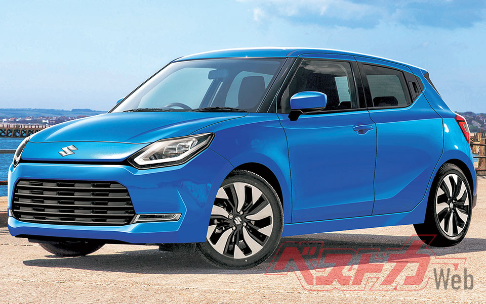 Next Gen Suzuki Swift to Debut in July 2022 1