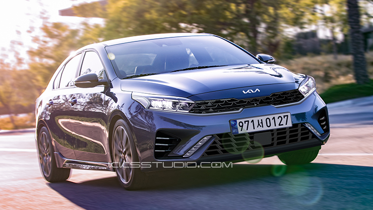 Speculative Renderings: 2021 Kia Cerato Facelift 3