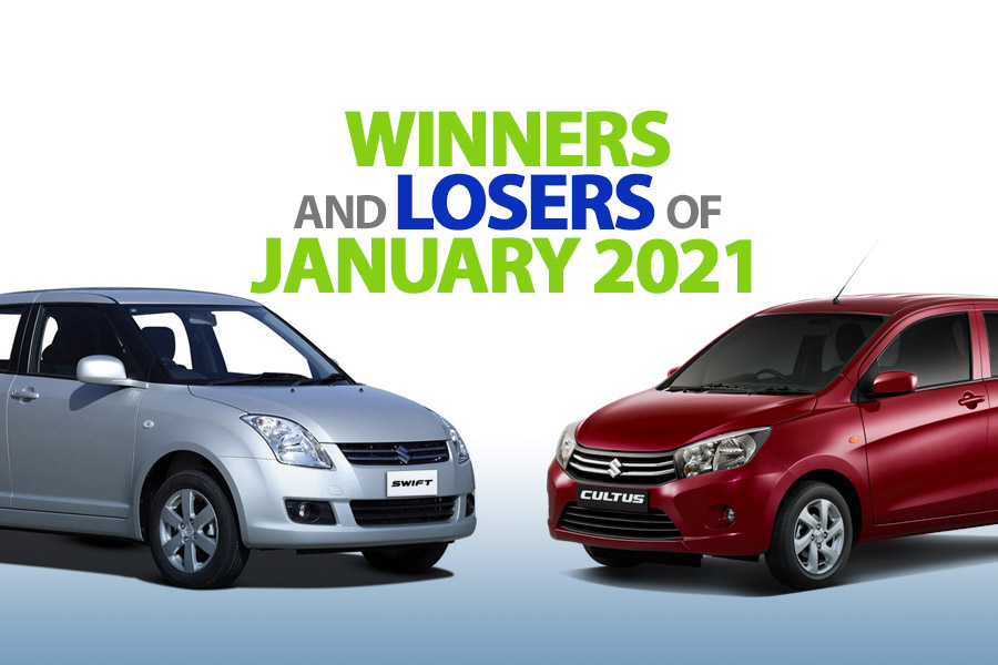 Winners & Losers of January 2021 3