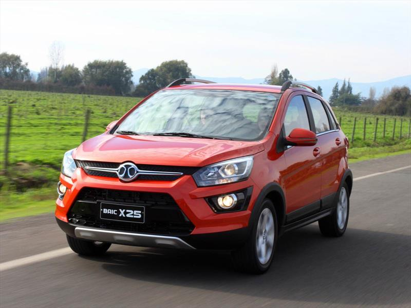 Sazgar All Set to Launch BAIC X25 Crossover 4