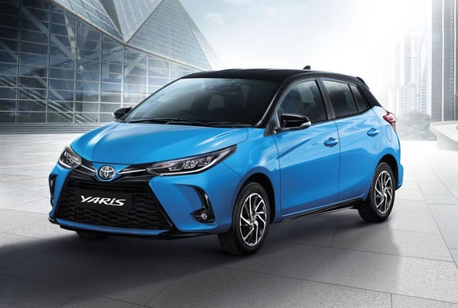 Toyota Yaris was the Bestselling Subcompact Hatchback in Thailand in 2020 1